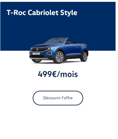 T-Roc Cabriolet Style